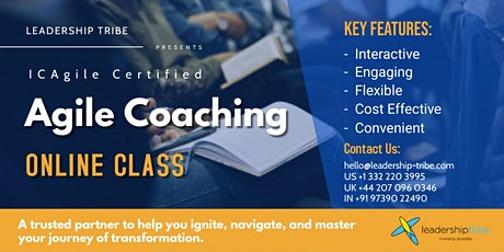Agile Coaching (ICP-ACC)| Virtual - Part Time - 220321 - Malaysia tickets