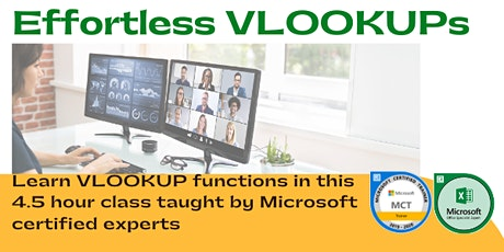 Effortless VLOOKUP Function | Learn How to Use VLOOKUP in Excel tickets