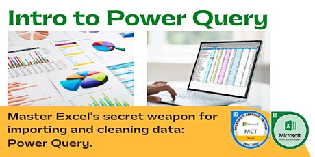 Power Query for Excel Training | Live, Online (1 day) tickets