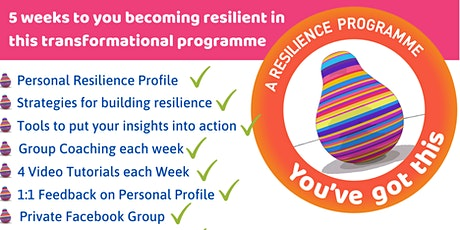 You've Got This Resilience Programme tickets