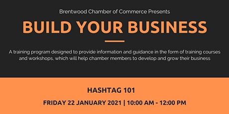 Build Your Business: Hashtag 101 tickets