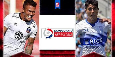 TV/VIVO.-Colo-Colo v U. Católica E.n Viv y E.n Directo ver Partido online entradas