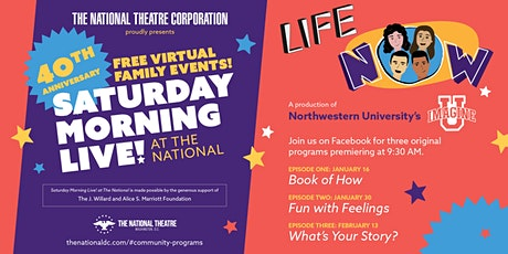 Saturday Morning Live! Presents Life Now Episode 2 tickets