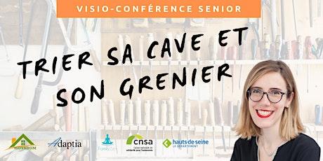 Visio-conférence senior GRATUITE - Trier sa cave et son grenier billets