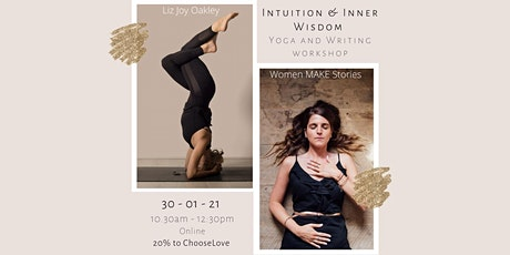Intuition and Inner Wisdom: Yoga and Writing Online Event tickets
