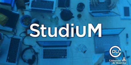 Comment fournir et recevoir des rétroactions en utilisant StudiUM? billets