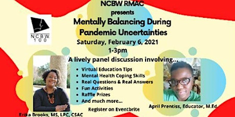 NCBW RMAC Mentally Balancing During Pandemic Uncertainties tickets