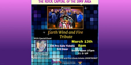 Earth Wind and Fire Tribute tickets