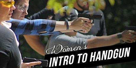 Women's Intro to Handgun tickets
