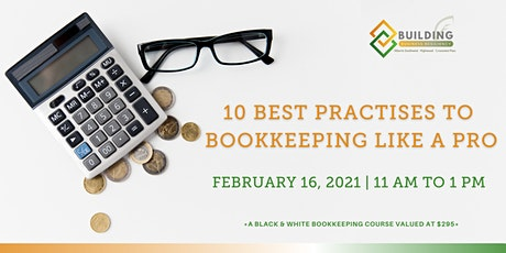 10 Best Practices to Bookkeeping like a Pro tickets