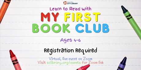 ONLINE: Learn to Read With My First Book Club tickets