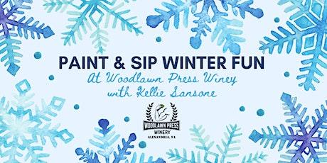 Winter Paint & Sip Fun tickets