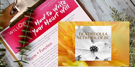 Write Your Heart Will & Live Your Legacy (A 2  Part Willow Workshop Series) tickets
