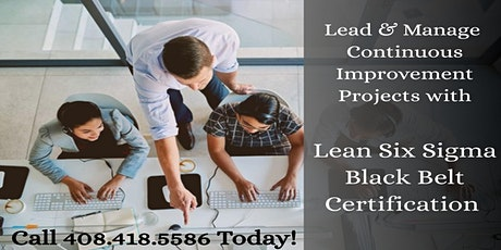 Lean Six Sigma Black Belt (LSSBB) Training Program in Ottawa tickets