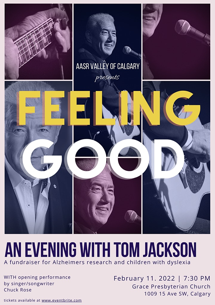 """FEELING GOOD"" - An Evening with TOM JACKSON image"