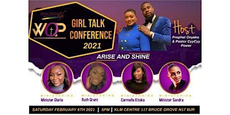KLM WOP Girl Talk Conference 2021 - Arise and Shine tickets