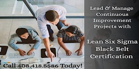 Lean Six Sigma Black Belt (LSSBB) Training Program in Washington tickets