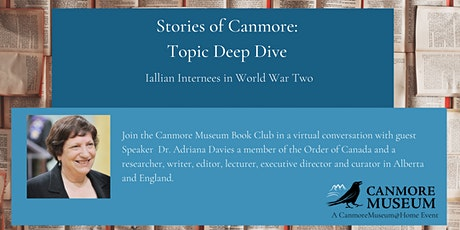 Stories of Canmore: Topic Deep Dive tickets