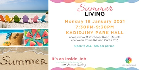 Summer Living and Make & Take - PERTH tickets