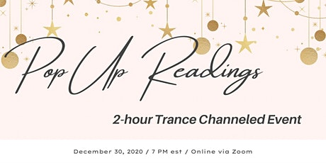 Trance Channeled Gallery Readings - Synergistic Events - $10 tickets