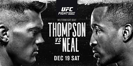 ONLINE@!.UFC Fight Night: Thompson v Neal LIVE ON 19 Dec 2020 entradas