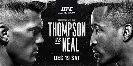 LIVE@!.MaTch UFC Fight Night: Thompson v Neal LIVE ON 19 Dec 2020 entradas