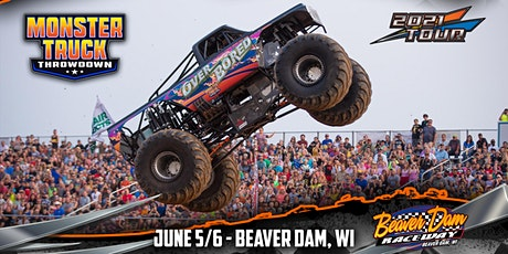 Monster Truck Throwdown - Beaver Dam, WI - June 5/6, 2021 tickets