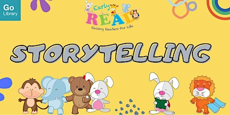 Storytime for 4-6 years old @ Tampines Regional Library | Early READ tickets