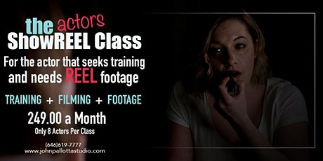 Acting for Film & Television - Free Sample Class - In Person tickets