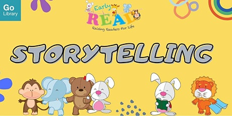 Storytime for 4-6 years old @ Jurong Regional Library   Early READ tickets