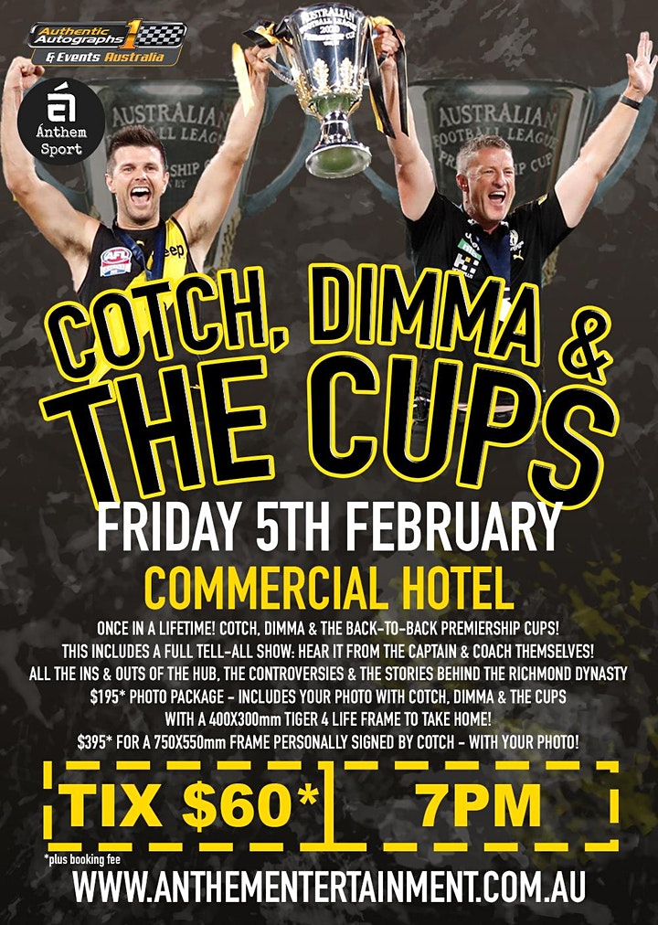 Cotch, Dimma & The Cups @ Commercial Hotel image