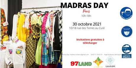 Madras Day - Paris billets