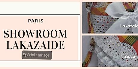 Showroom Lakazaide - Spécial Mariage billets