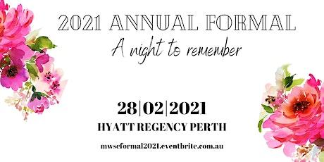 MWSC Annual Formal 2021 tickets