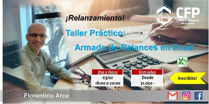 "Imagen de ""Armado de Balance - Taller Práctico"" Relanzamiento"