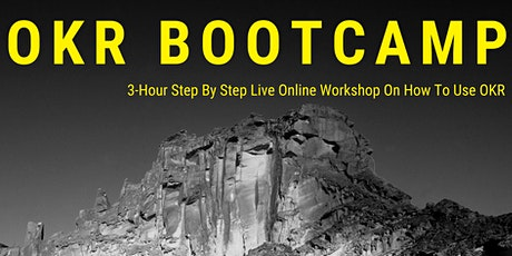3-Hour Live OKR Bootcamp With Complete Guide on OKR Implementation tickets