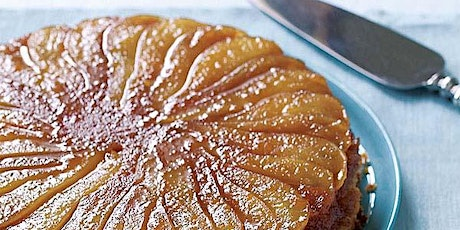 Virtual Baking Workshop: Cardamom Caramel Pear Cake tickets