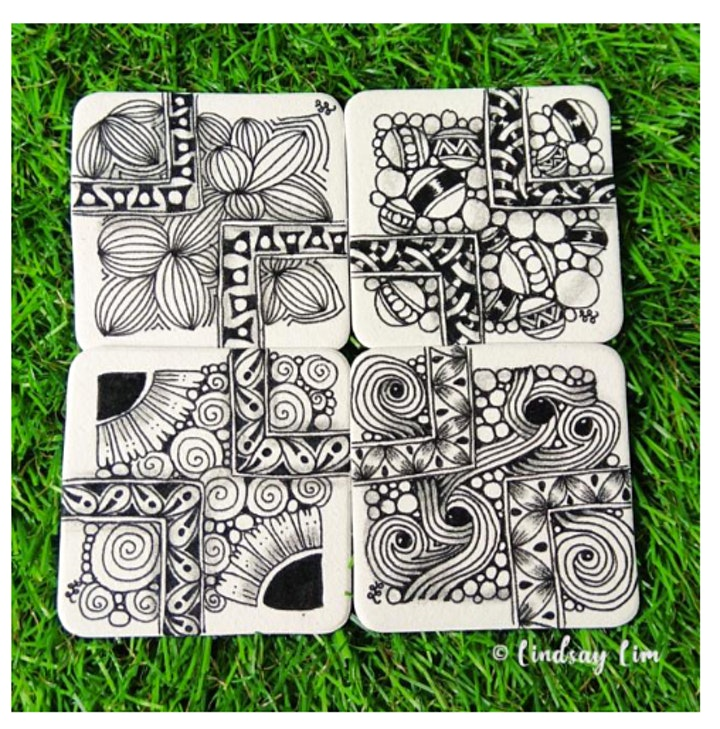 Zentangle Art Course starts  March 4  (8 sessions) image
