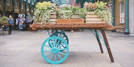 A Virtual Walking Tour of Covent Garden; theatres, markets & entertainment tickets