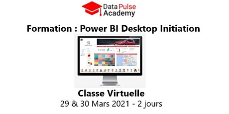 Power BI Initiation - 2 jours - 29 & 30 Mars 2021 billets