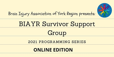 BIAYR Online Survivor Support Group 2021 tickets
