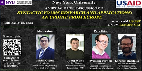 Syntactic Foams Research and Applications:  An Update from Europe tickets