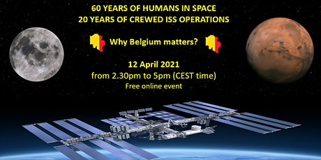 60 years of humans in space & 20 on ISS: Why Belgium matters? tickets