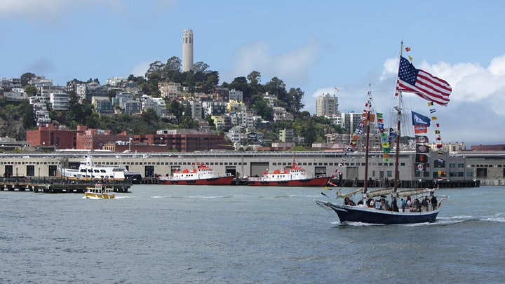 Opening Day Sail on the San Francisco Bay image