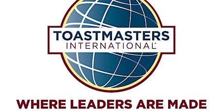 Upstander Toastmaster Meeting tickets