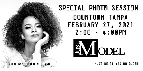 Just Model: Special Photo Session - Downtown Tampa tickets