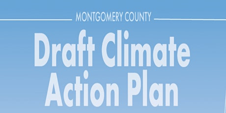 Social Justice Aspects of Montgomery County Draft Climate Action Plan tickets