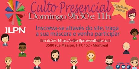 ILPN | Culto Presencial 2021 tickets