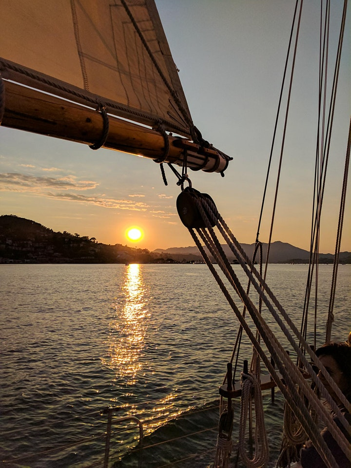 Opening Day on the Bay Sunset Sail image