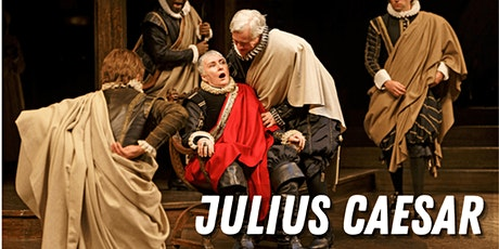 Julius Caesar (Part One) FREE and ONLINE Shakespeare Reading tickets